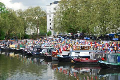 Free-events.co.uk - Canalway Cavalcade, Little Venice, London